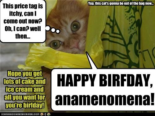 Happy birthday, anamenomena!