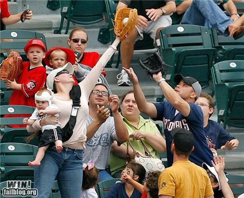 baseball catch mom Multitasking parenting - 5140638976
