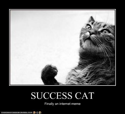 animals,Cats,I Can Has Cheezburger,internet,Memes,success,success kid