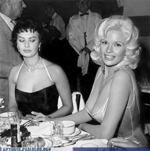 bewbs black-white classic envy Jayne Mansfield sofia loren - 5142040320
