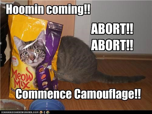 abort animals camouflage Cats food I Can Has Cheezburger meow mix trickery - 5142088960