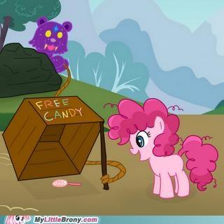 free candy meme pedo bear pinkie pie as a filly ursa pedo watch out - 5142523136