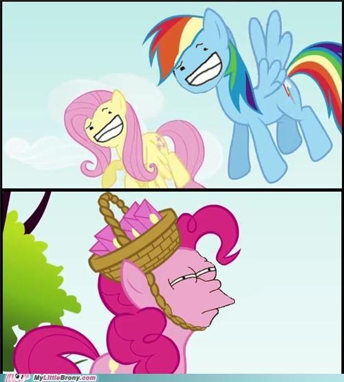 cant comic fluttershy fry meme meme pinkie pie rainbow dash - 5142803200