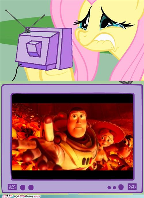 comics,fluttershy,memories,movies,toy story,woody