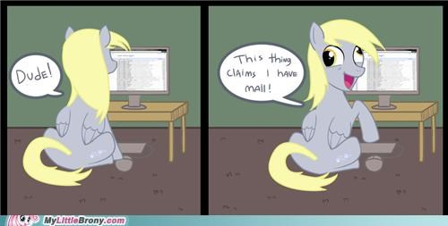 comics derpy hooves internet muffins youve-got-mail - 5143333888