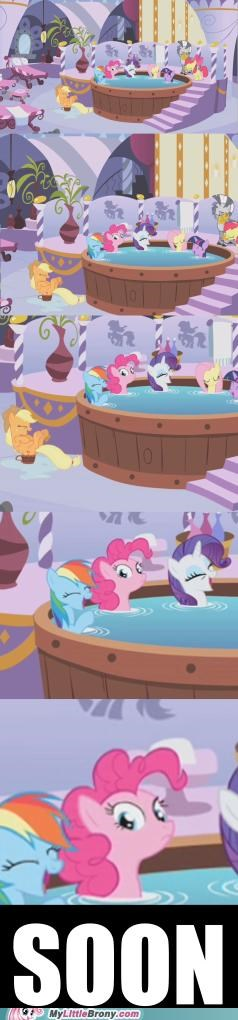 comics friendship Impending Doom pinkie pie rarity relaxing SOON - 5144245504