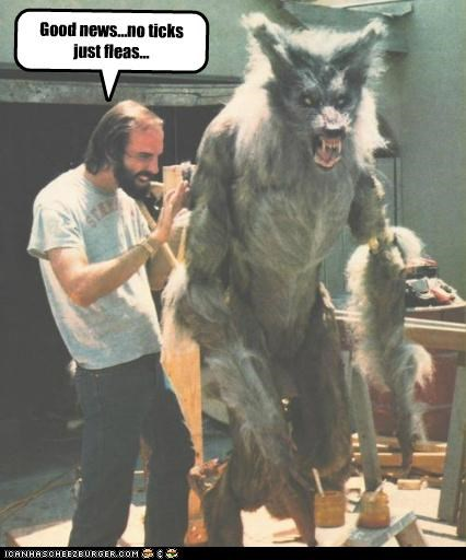funny Hall of Fame monster Movie the howling werewolf - 5144565248