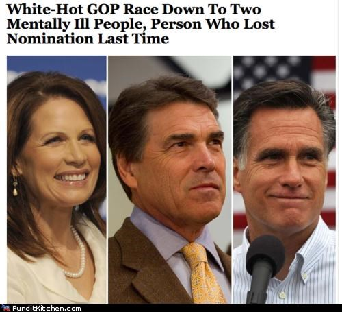 election 2012 GOP Michele Bachmann Mitt Romney political pictures Rick Perry - 5144584448