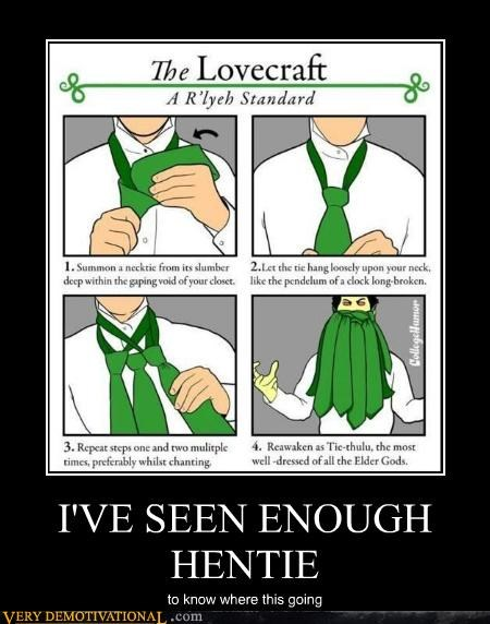 cthulhu japanese entertainment lovecraft puns Pure Awesome tentacles - 5144605696