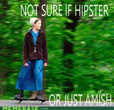 amish hates hipster hipster-disney-friends skateboard technology - 5144734464