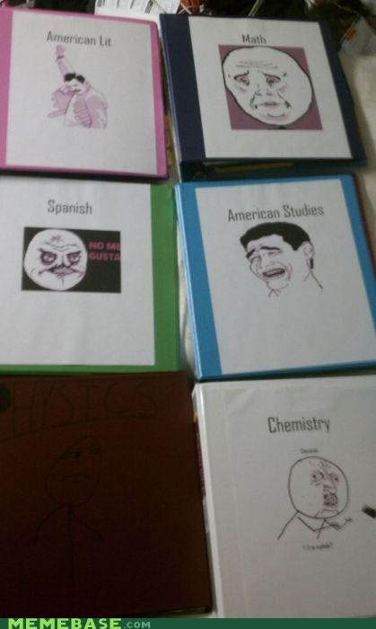 back,Chemistry,Rage Comics,school,studies