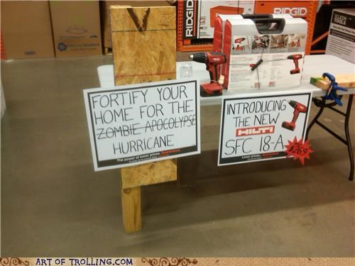 fortify hardware hurricane IRL zombie - 5144891136