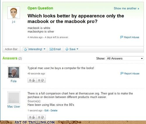 mac shock sites the mac user Yahoo Answer Fails - 5144903680