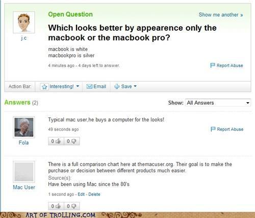 mac shock sites the mac user Yahoo Answer Fails - 5144903680