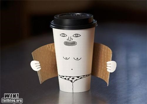 coffee,cup,drawing,flasher,hacked irl,pervert