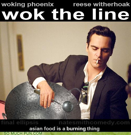 film homophone Joaquin Phoenix johnny cash literalism Movie Reese Witherspoon walk the line wok - 5145022976
