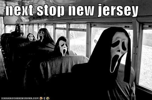 bus,buses,costume,Death,ghostface,jersey shore,New Jersey,roflrazzi