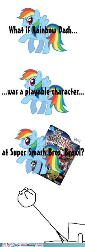 20 Percent Cooler best of week falcon punch rainbow crash rainbow dash super smash bros - 5145089024