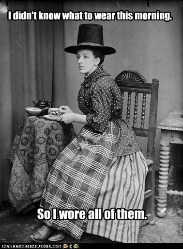 fashion funny historic lols lady Photo - 5145421056