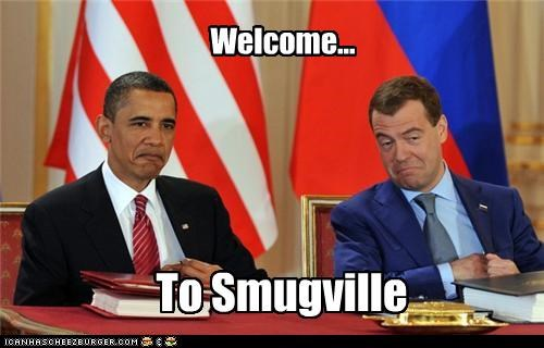 Welcome... To Smugville