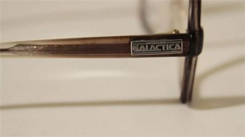 Battlestar Galactica glasses museum mystery Smithsonian tv shows vids - 5145474048