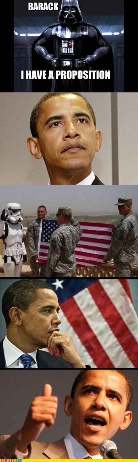 darth vader,obama,star wars,stormtrooper
