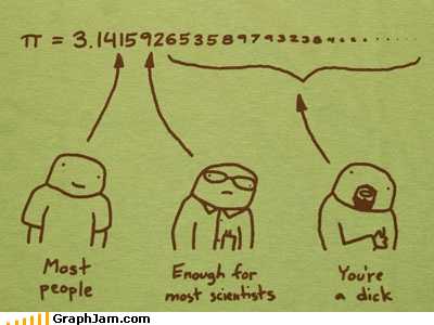 annoying digits pi scientists