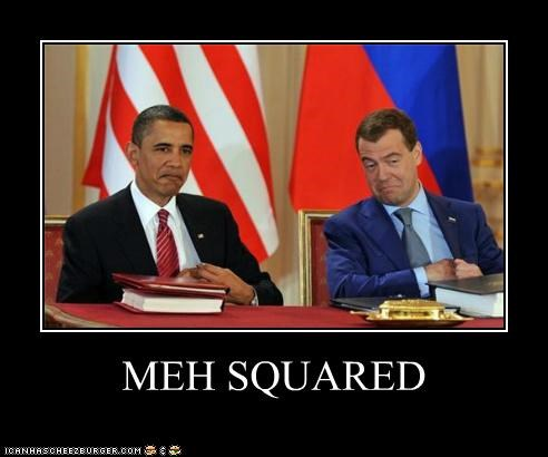 barack obama,Democrat,demotivational,Dmitry Medvedev,foreign,funny,president,russia