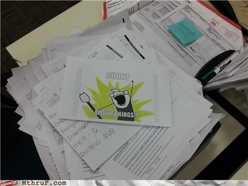 counting homestuck Memes paperwork sick days