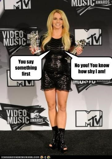 singers Awards bewbs britney spears roflrazzi shy talking vmas - 5146969344