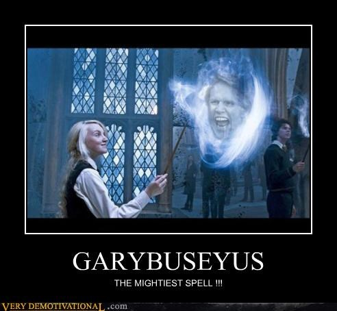 awesome gary busey Harry Potter magic Pure Awesome - 5147429632