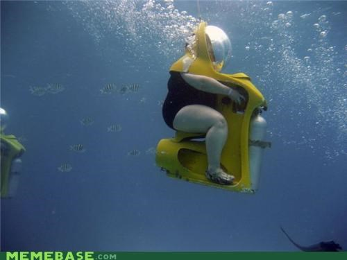 awesome scuba sitter tank wtf - 5147595008