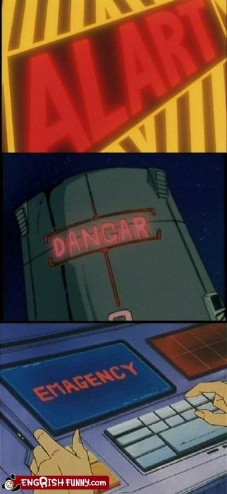 80s anime cartoons sign TV warning