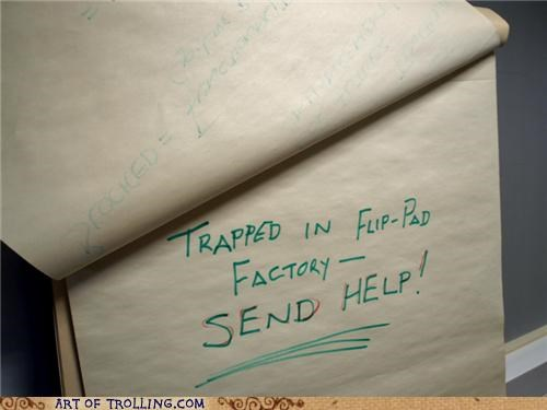 factory flip-pad help IRL note sos trapped - 5147977472