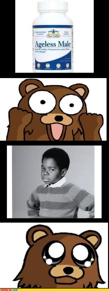 ageless male,gary coleman,pedobear,the internets,what you talkin bout pedo