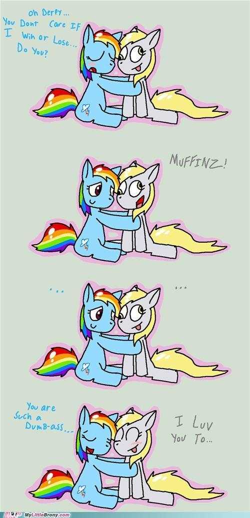 comics derpy hooves love you too muffinz rainbow dash - 5148163072