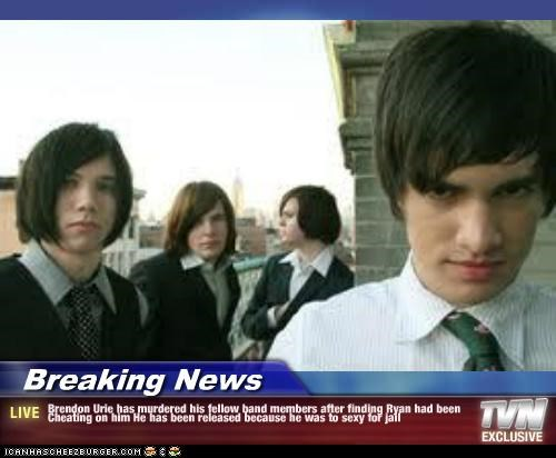 Breaking News - Brendon Urie has murdered his fellow band