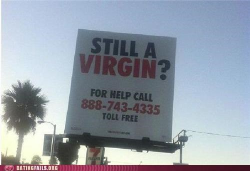 billboard,hotline,virgin,virginity,We Are Dating