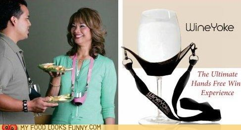 glass holder nerdy Party wine yoke - 5148559616