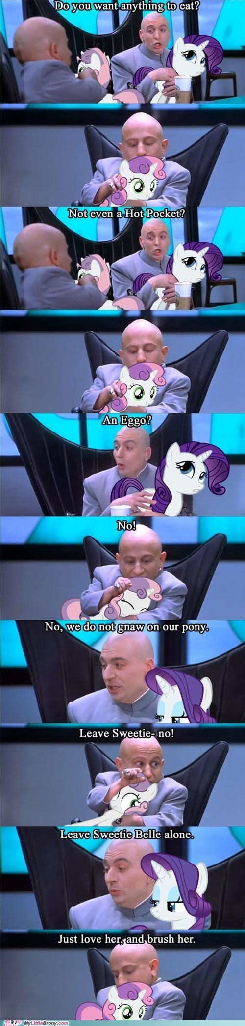 austin powers comics dr-evil rarity Sweetie Belle - 5148564224