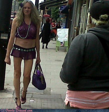 heels,miniskirt,old,street