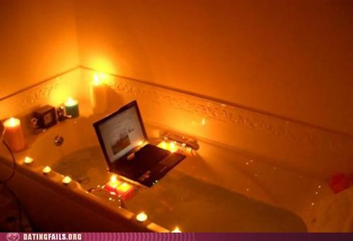bathtub,candles,masturbation,romantic,We Are Dating