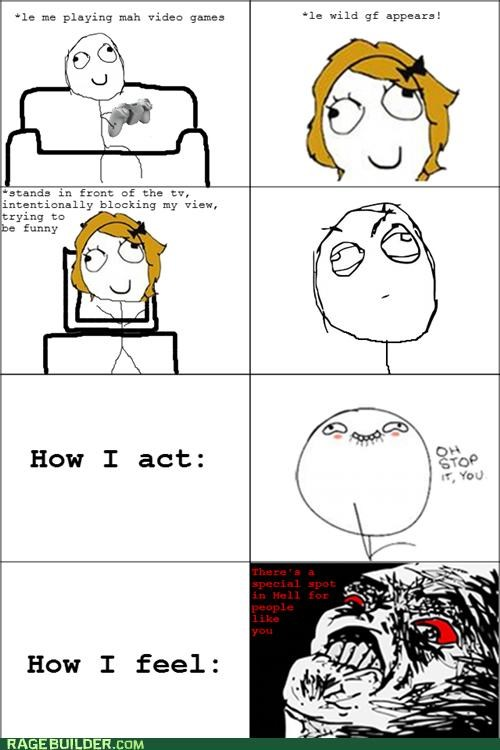 how i feel in front oh stop it Rage Comics video games you - 5148985600