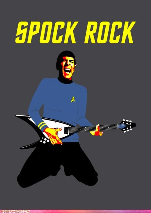 art awesome funny Hall of Fame Leonard Nimoy sci fi Spock Star Trek TV - 5149232128