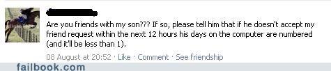 friend request oh snap parents status - 5149266432