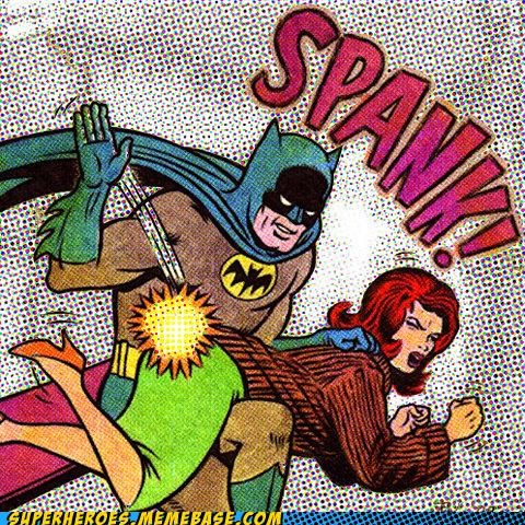 batman,best of week,classics,spanking,Straight off the Page