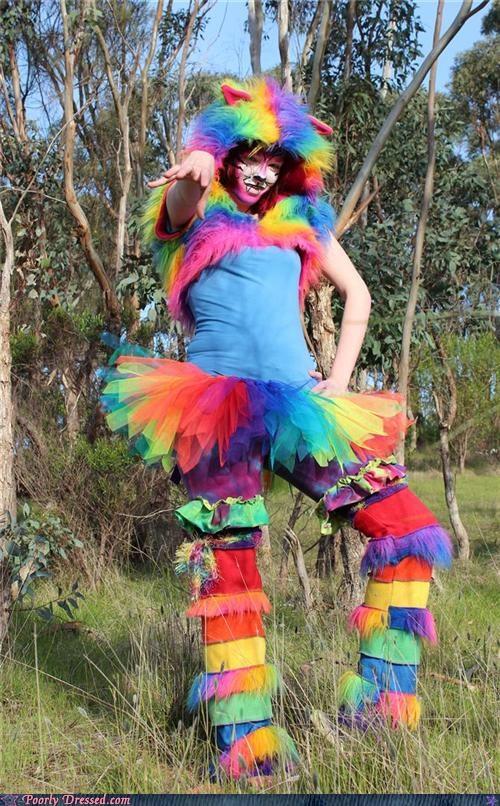 cat rainbow tutu - 5149524992
