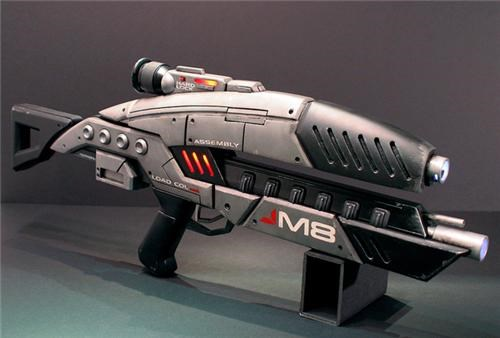 daily diy DIY guns instructions M8 avenger assault rifle mass effect video games volpin props - 5149622784