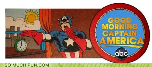 captain america,double meaning,Good Morning America,literalism,news,show,television