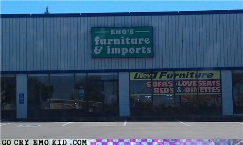 emo emolulz furiniture sadness sign